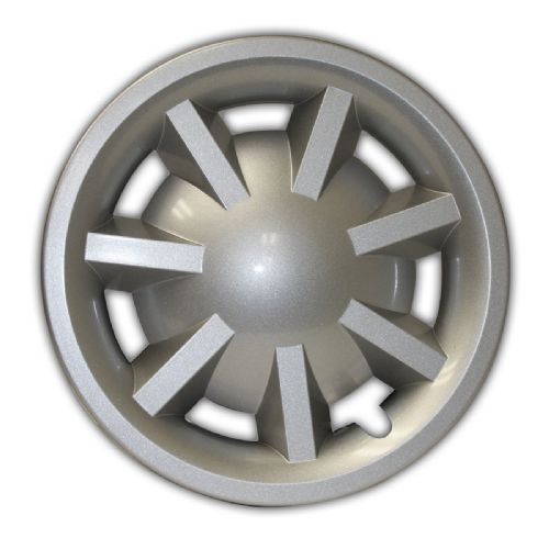 "8"" Metallic Silver Hubcap Assembly for RXV (No Logo) (OEM)"